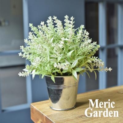 【Meric Garden】創意北歐ins風仿真迷你療癒小盆栽/桌面裝飾擺設_2色任選