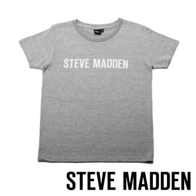 STEVE MADDEN-時尚品牌LOGO T-Shirt-灰色
