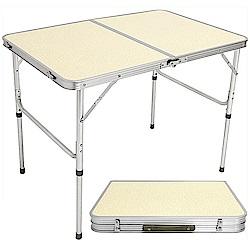 手提鋁合金折疊桌 摺疊桌 折合桌-(快)