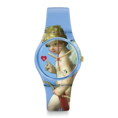 Swatch 原創系列手錶 FLÈCHE D AMOUR - 34mm