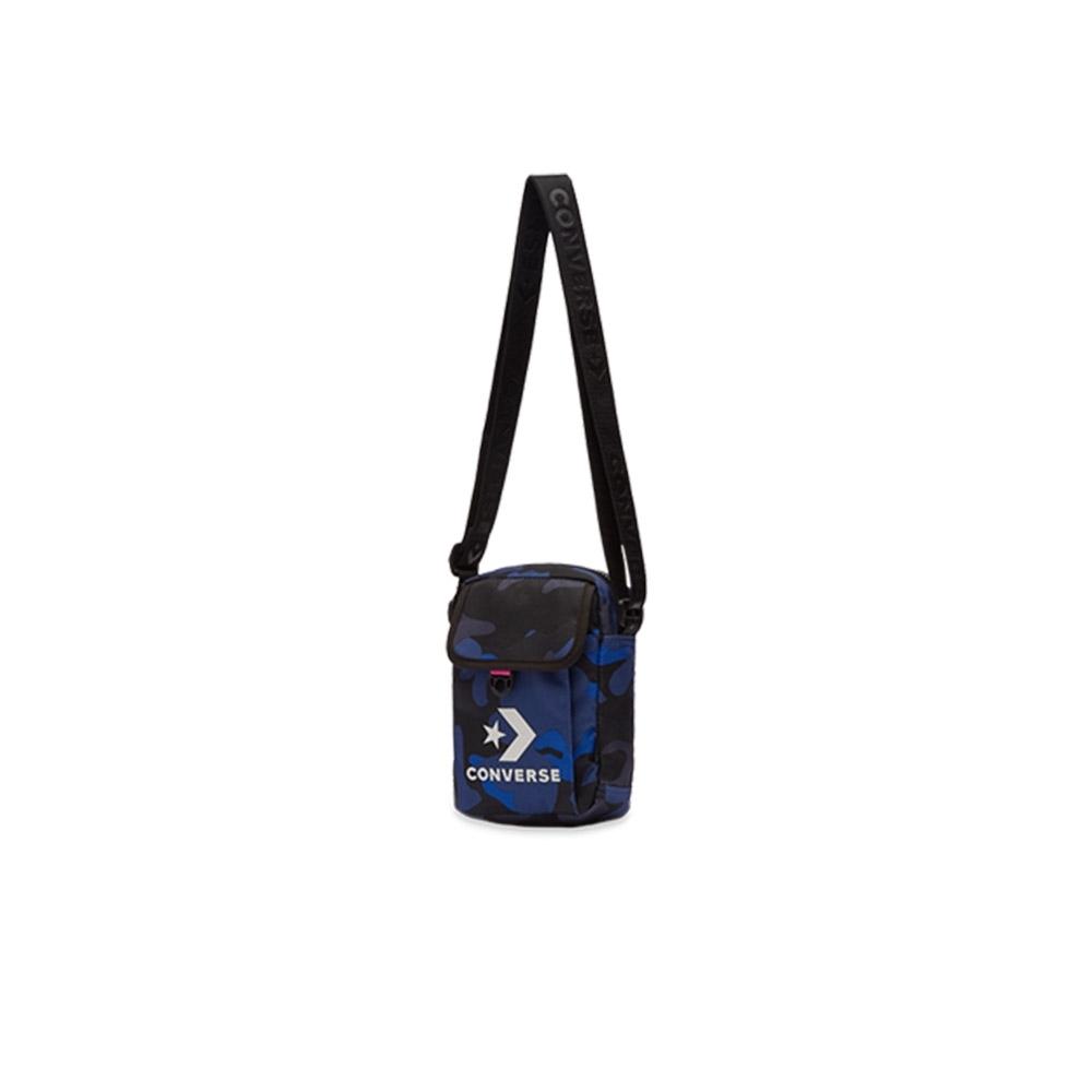 CONVERSE 潮流側背小包 藍迷彩 10008300-A01