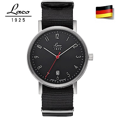 Laco 朗坤 862070德國工藝包豪斯系列Weimar40自動機械腕錶 男款-40mm