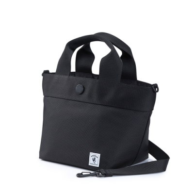 PORTER - 繽紛好感PARROT輕巧兩用手提包 - 黑