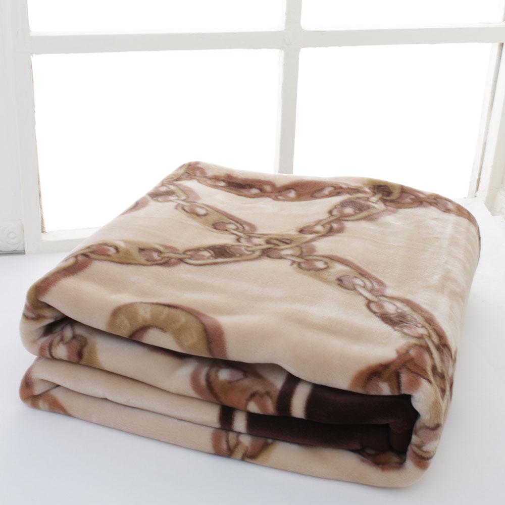 ((領券可現折))時時樂 CELINE 經典鎖鏈LOGO保暖毛毯禮盒-現折後5520 product image 1