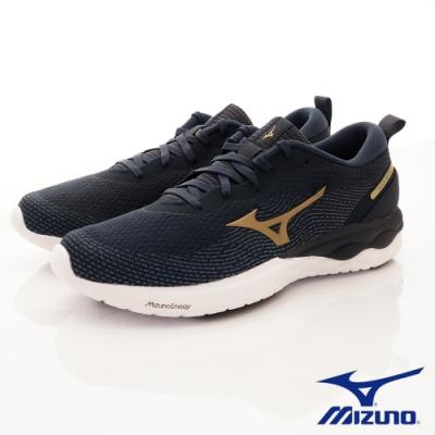 Mizuno美津濃  WAVE REVOLT慢跑鞋 208147深藍(男款)