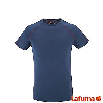 LAFUMA-男 WAY 短袖排汗衣-LFV 113116730 -深藍