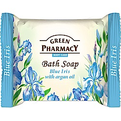 Green Pharmacy 草本肌曜 藍鳶尾&摩洛哥堅果喚采皂 100g
