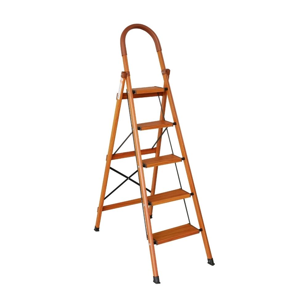 TRENY 木紋加寬扶手梯 - 五階