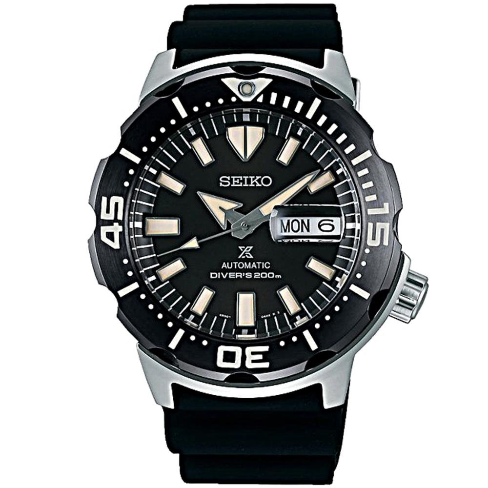 SEIKO精工 PROSPEX黑潮流潛水機械錶(SRPD27J1/4R36-07B0D)