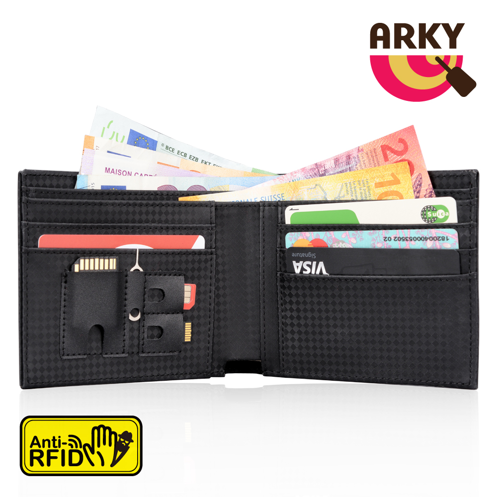 ARKY Wallet&Guard X RFID-blocking 防側錄短夾 product image 1