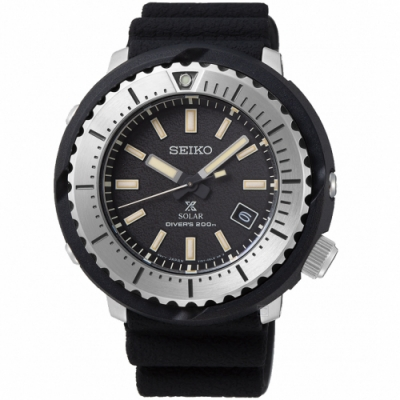 SEIKO精工PROSPEX STREET小鮪魚太陽能潛水錶(SNE541P1)