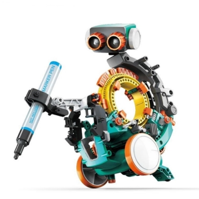 台灣製造Proskit寶工科學玩具5合1機械STEM編程機械人GE-895