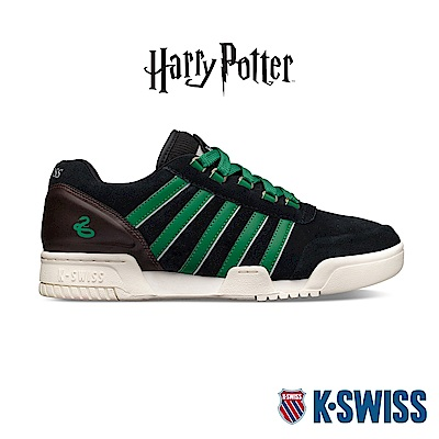 K-SWISS Gstaad 86 X Harry Potter哈利波特聯名款-男-黑/綠