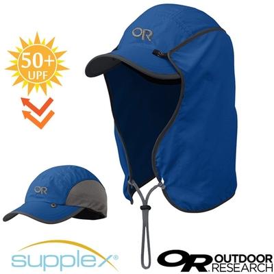 Outdoor Research SUN RUNNER CAP 抗UV防曬三用可拆透氣護頸棒球帽子(UPF50+)_深藍