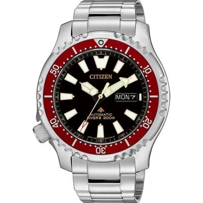 CITIZEN 星辰 PROMASTER 限量200米潛水機械錶(NY0091-83E)