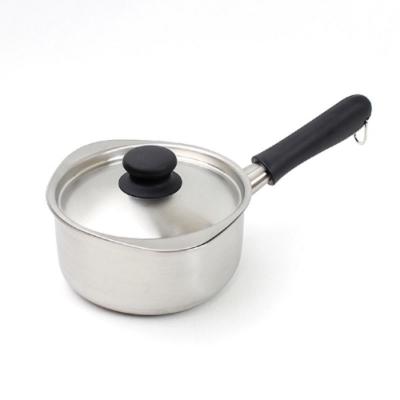 柳宗理 不鏽鋼 16cm 霧面 單柄鍋(附蓋)-日本大師級商品