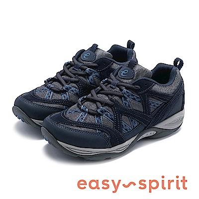 Easy Spirit EXPLOREMAP 機能款輕量彈力休閒鞋-藍色