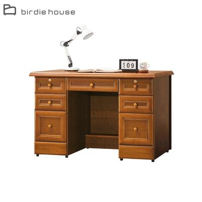 柏蒂家居-歐普拉4.4尺七抽書桌/辦公桌-132x63x81cm