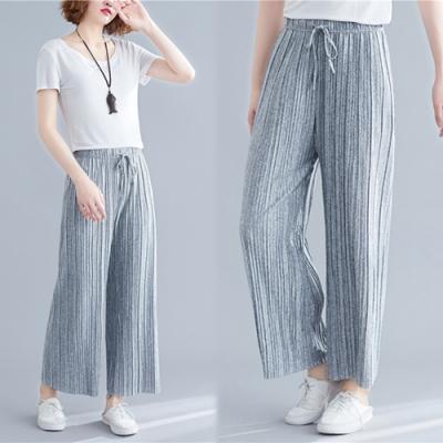 【韓國K.W.】破盤價夏日簡約顯瘦九分褲