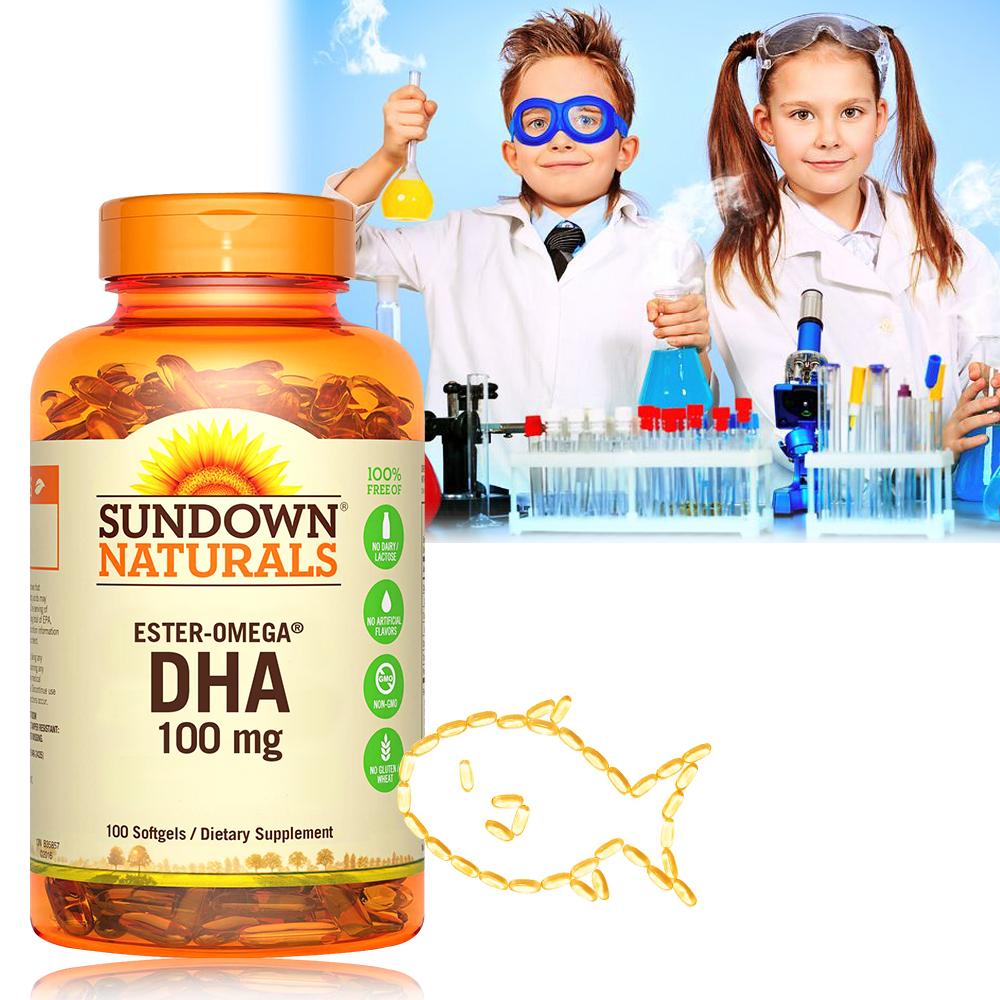Sundown日落恩賜 兒童精明鮪魚油DHA軟膠囊(100粒/瓶)