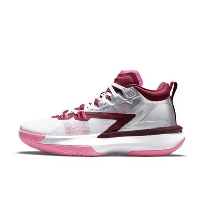 NIKE JORDAN ZION 1 PF 男籃球鞋-白粉-DA3129100