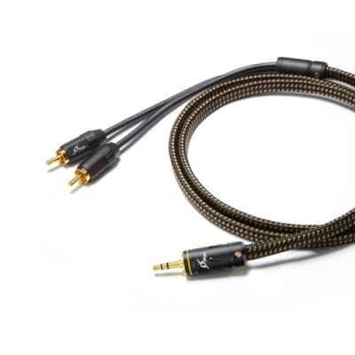 【MPS】Leopard Senai歌系列 3.5mm轉RCA Hi-Fi音響線(1.8M)