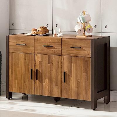 H&D 巴菲特4尺餐櫃