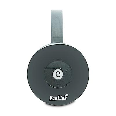 三代圓形FunLink高畫質雙核1080P無線影音鏡像器(送3大好禮)