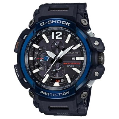 CASIO卡西歐 GPS藍芽功能飛行概念錶(GPW-2000-1A2)