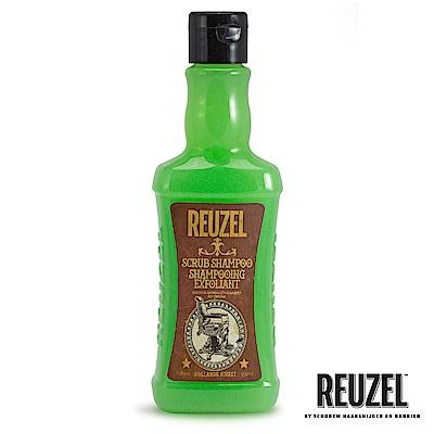 REUZEL Scrub Shampoo脫油去角質保濕髮浴350ml