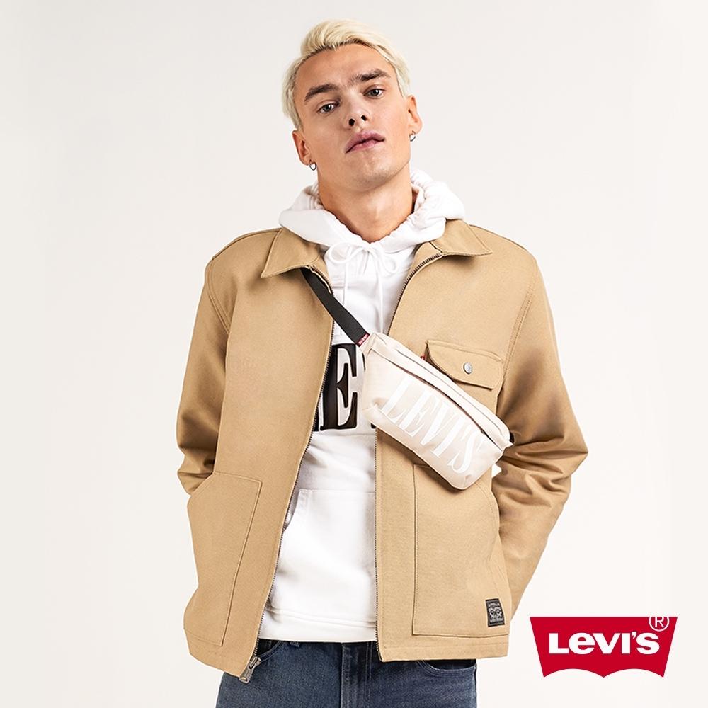 Levis 男款 卡其鋪棉外套 復古工裝風 內袋設計 春夏形象款