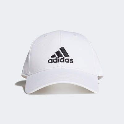 ADIDAS 休閒 運動 老帽 棒球帽 白 FK0890 BASEBALL CAP
