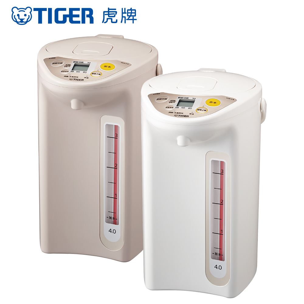 日本製 TIGER 虎牌4.0L微電腦電熱水瓶(PDR-S40R)_e product image 1