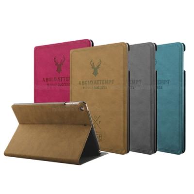 VXTRA 2019 iPad mini/iPad mini 5北歐鹿紋平板皮套