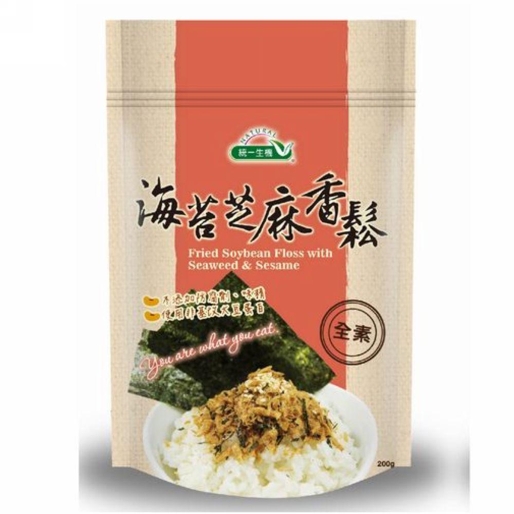 統一生機 海苔芝麻香鬆(200g)