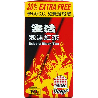 生活 泡沫紅茶(300ccx24入)