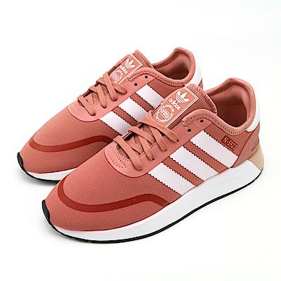 ADIDAS-女休閒鞋AQ0267-粉
