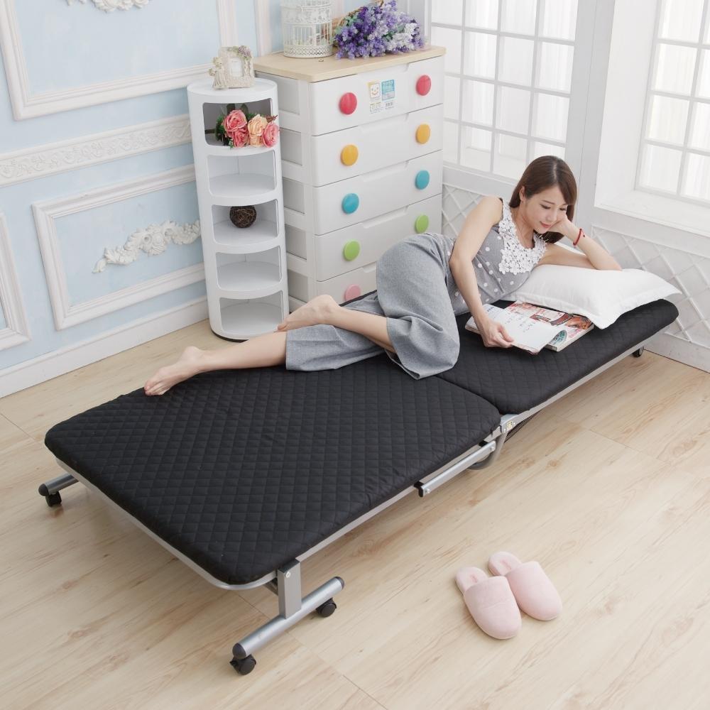 (時時樂限定) Simple Life 基本款無段式折疊床-E