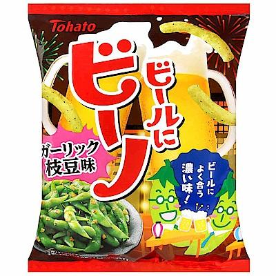 東鳩 比諾豌豆脆條-蒜味毛豆風味(62g)