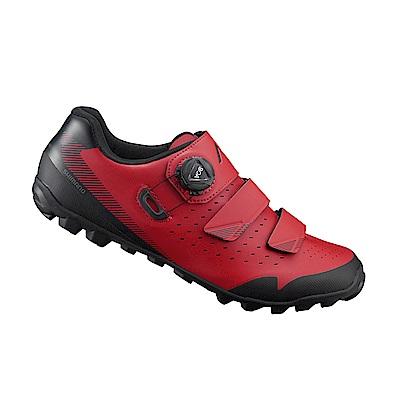 【SHIMANO】ME400 男性林道越野性能車鞋 紅色
