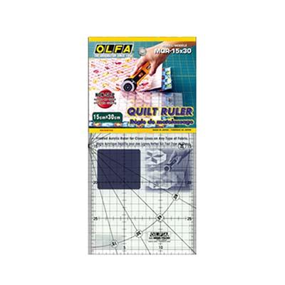 縫紉工具 OLFA 裁尺15X30cm