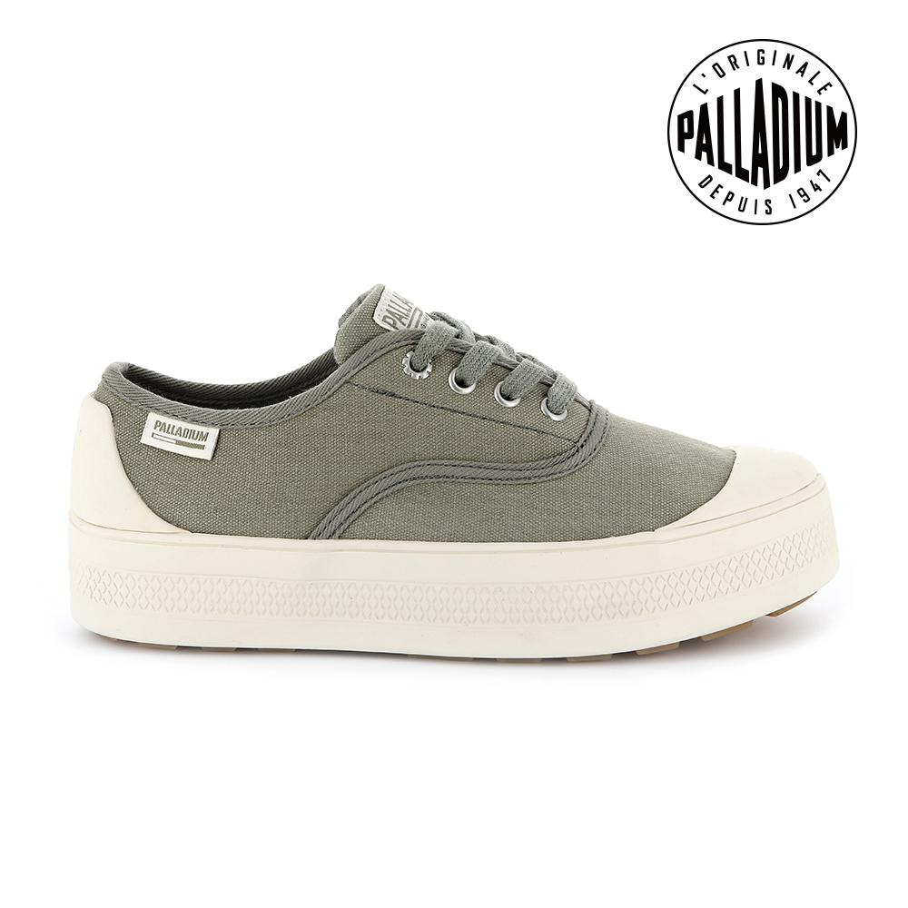 Palladium SUB LOW CVS低筒女鞋-墨綠