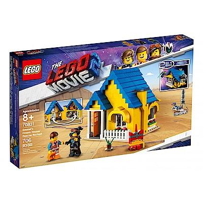 樂高LEGO 玩電影系列 - LT70831 Emmet s Dream House/Re