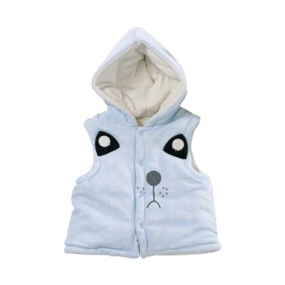 動物造型鋪棉細絲絨連帽背心外套 k61079 魔法Baby