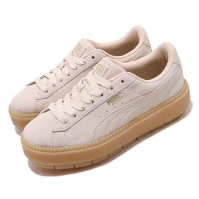 Puma 休閒鞋 Platform Trace 女鞋