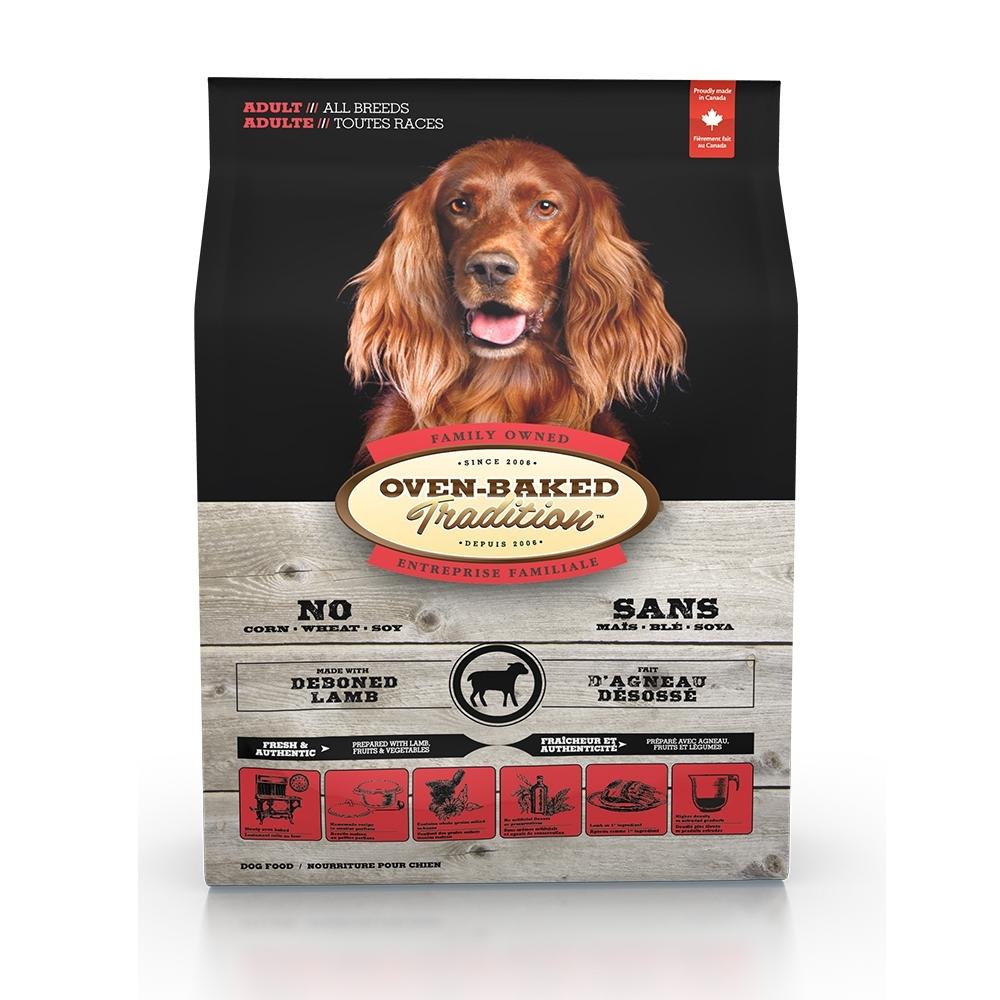 加拿大OVEN-BAKED烘焙客-成犬草飼羊-原顆粒 5.67kg(12.5lb)