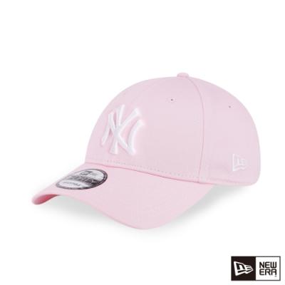 NEW ERA 9FORTY 940 LOGO 洋基 粉紅/白 棒球帽