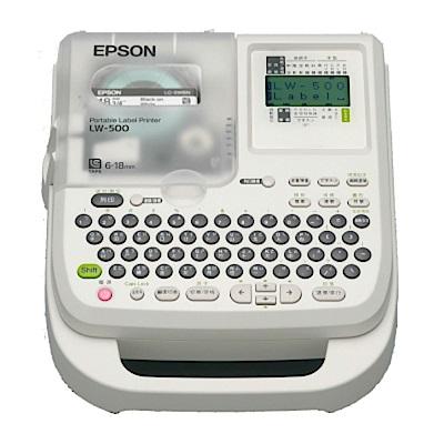 EPSON LW-500 可攜式標籤印表機