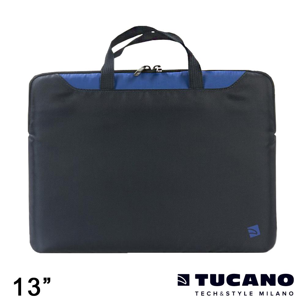 TUCANO MINI 輕薄多功能手提內袋 13吋-藍