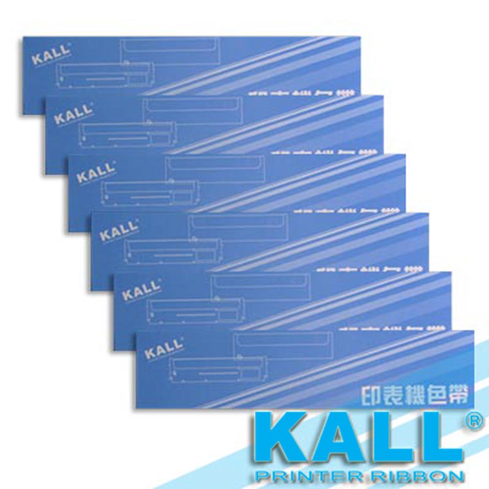 KALL『 EPSON S015611/LQ690C 』色帶 (黑色/1組6入)